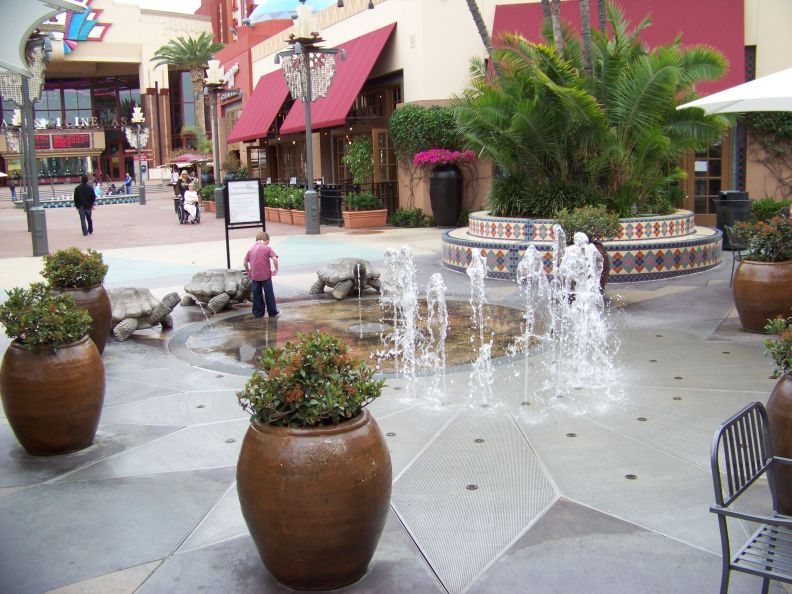 Water Fountain In Irvine