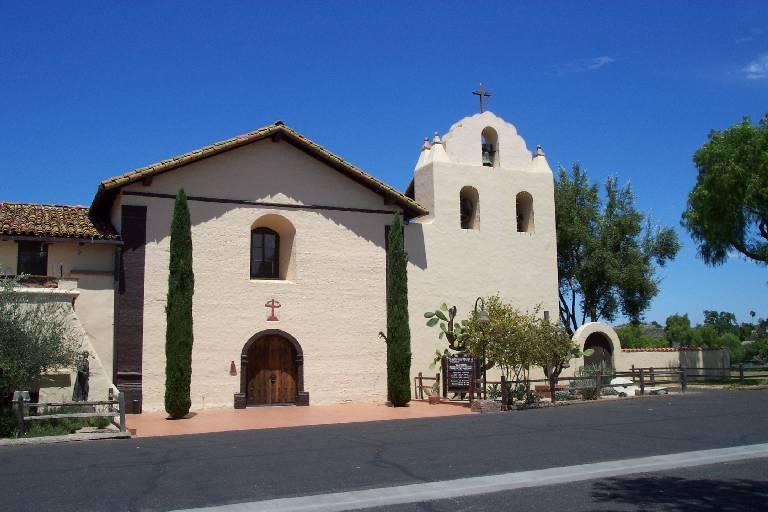 Mission Santa Ines - LetsGoSeeIt.com